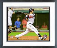 Cleveland Indians Nick Swisher 2014 Action Framed Photo