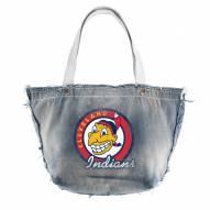 Cleveland Indians Retro Vintage Tote Bag