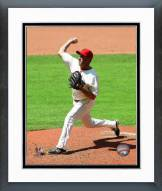 Cleveland Indians Scott Atchison 2014 Action Framed Photo