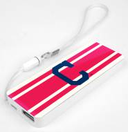 Cleveland Indians Slim Power Bank Portable Charger