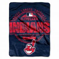 Cleveland Indians Triple Play Throw Blanket