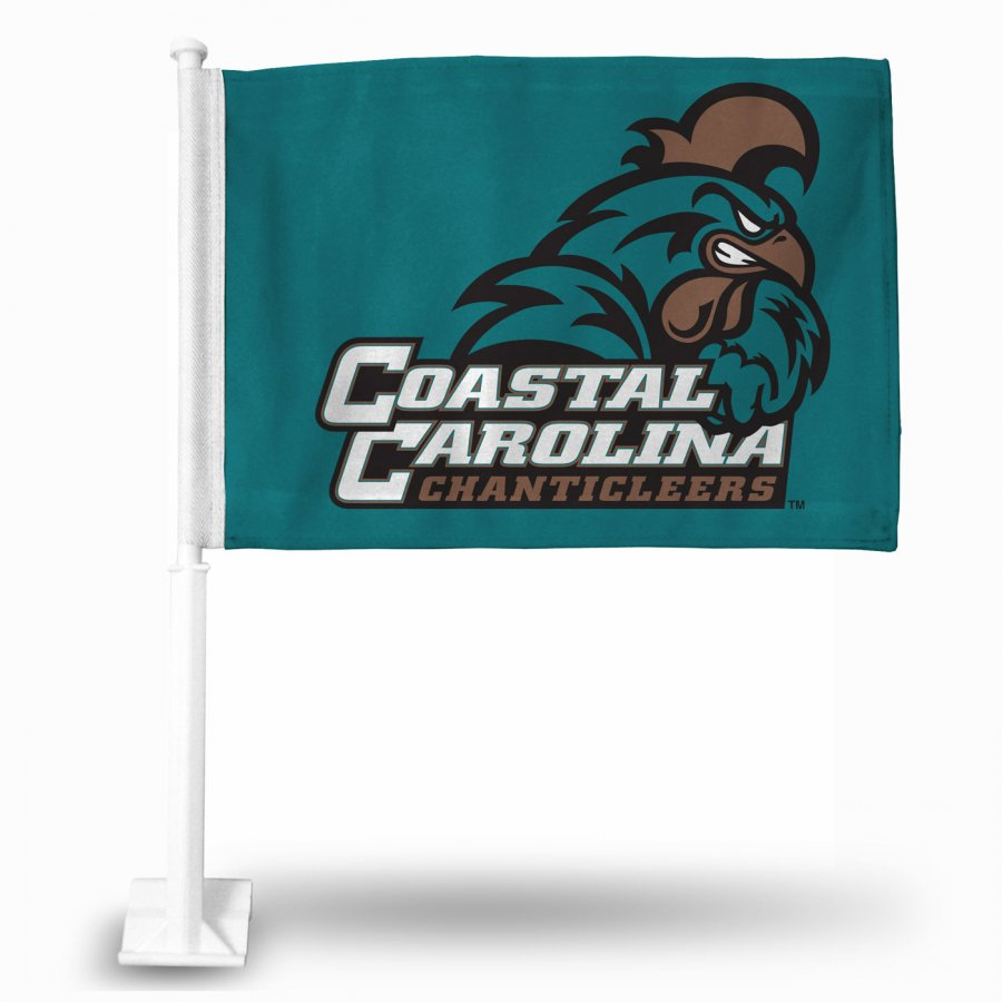 Coastal Carolina Chanticleers College Car Flag