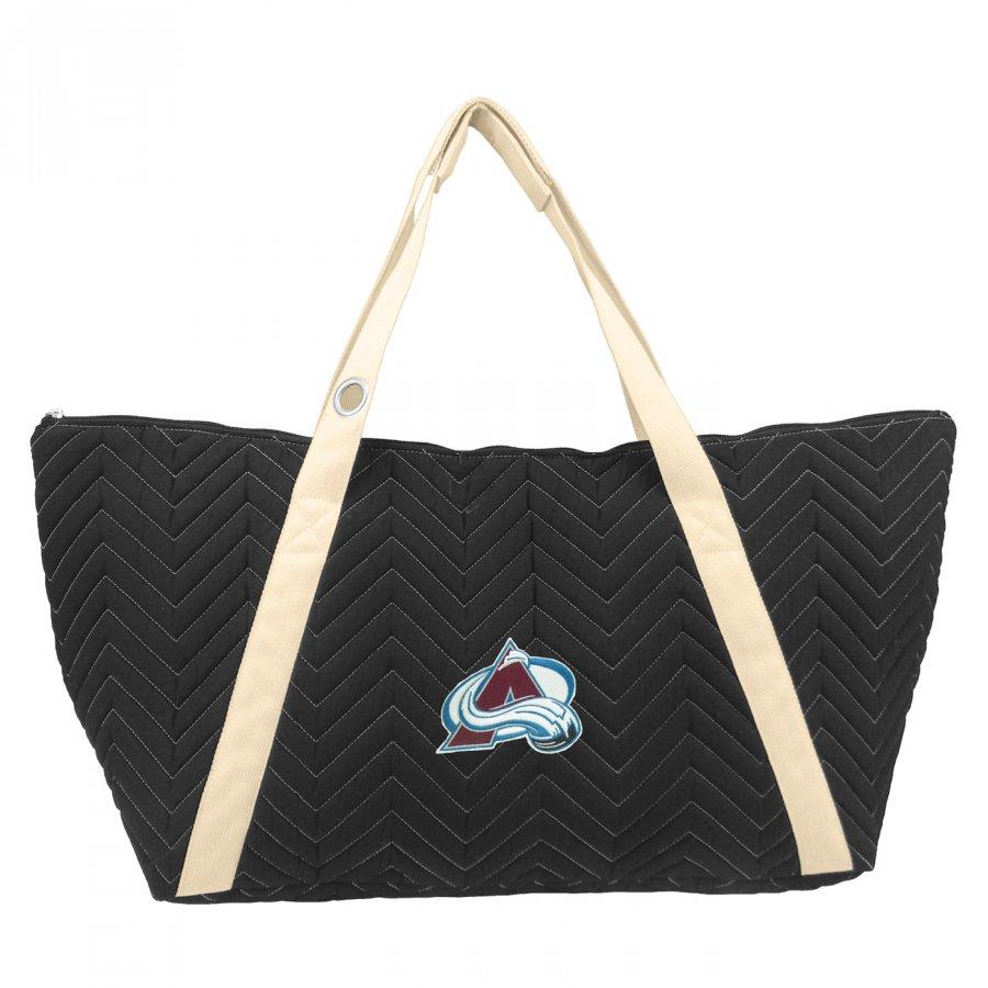 Colorado Avalanche Chevron Stitch Weekender Bag