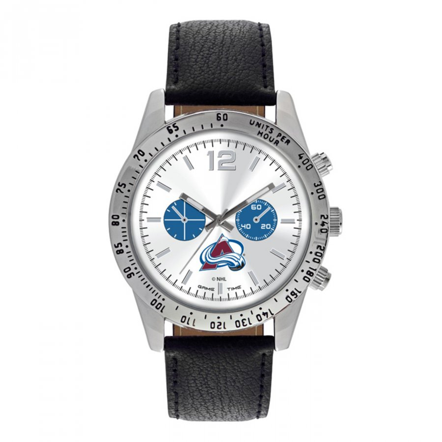 Colorado Avalanche Men's Letterman Watch