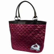 Colorado Avalanche Quilted Tote Bag