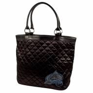 Colorado Avalanche Sport Noir Quilted Tote