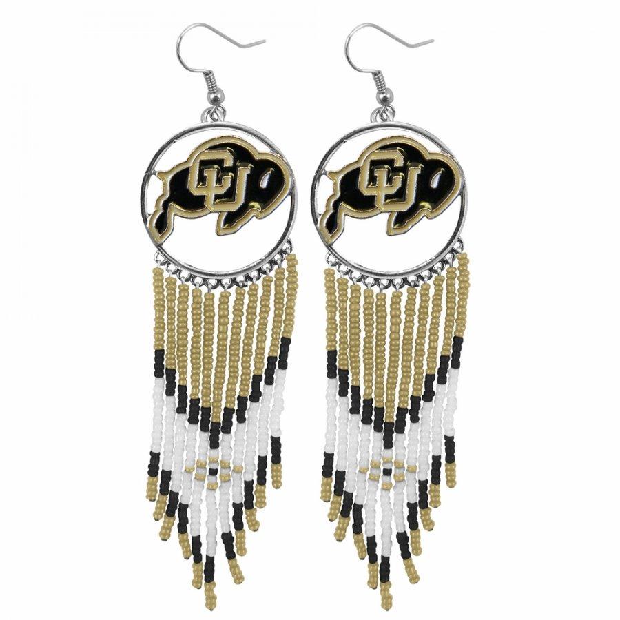 Colorado Buffaloes Dreamcatcher Earrings