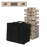 Colorado Buffaloes Giant Wooden Tumble Tower Game