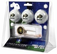 Colorado Buffaloes Golf Ball Gift Pack with Cap Tool
