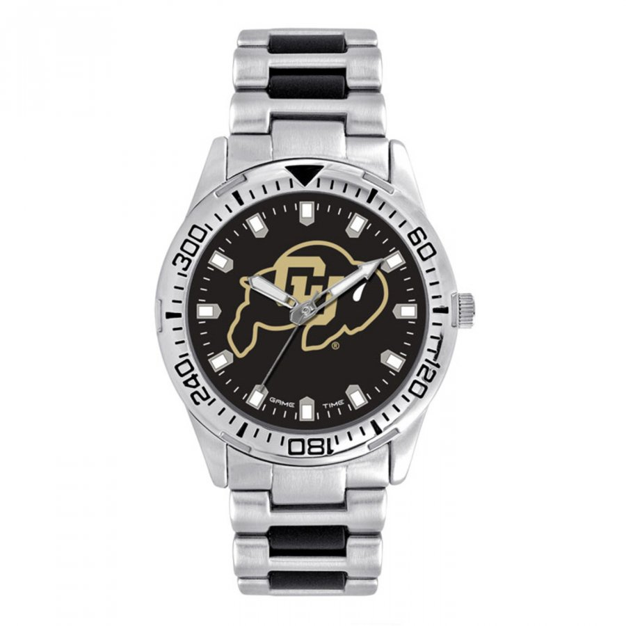 Colorado Buffaloes Men's Heavy Hitter Watch