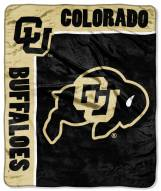 Colorado Buffaloes School Spirit Raschel Throw Blanket