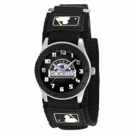 Colorado Rockies Black Rookie Kids Watch