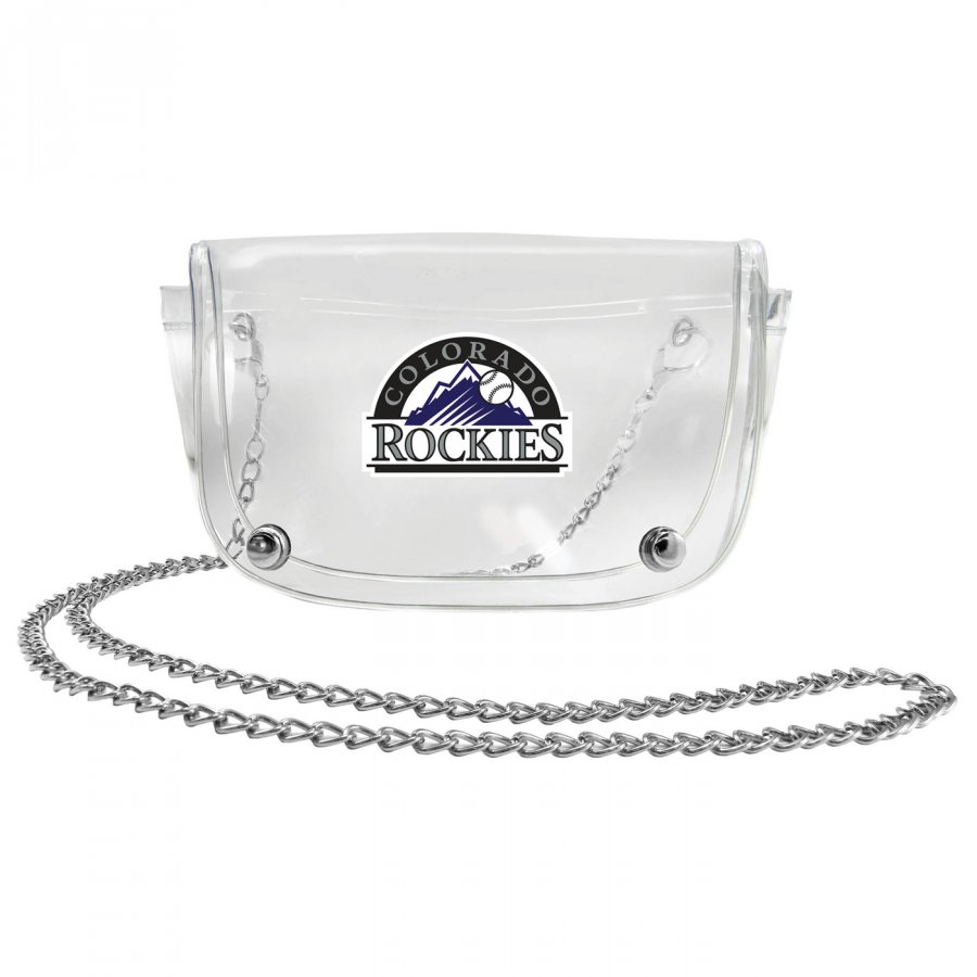 Colorado Rockies Clear Waistpack