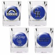 Colorado Rockies Collector's Shot Glass Set