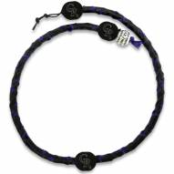 Colorado Rockies Frozen Rope Color Baseball Necklace
