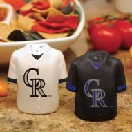 Colorado Rockies Gameday Salt and Pepper Shakers