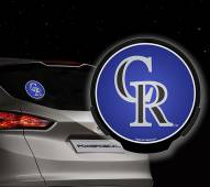Colorado Rockies Light Up Power Decal