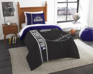 Colorado Rockies Twin Comforter & Sham Set