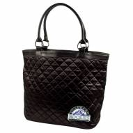 Colorado Rockies Quilted Tote Bag