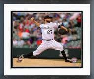 Colorado Rockies Tyler Chatwood 2014 Action Framed Photo