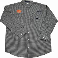 Columbia Men's Auburn Super Bonehead Long Sleeve Gingham Shirt