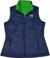 Columbia Women's Notre Dame Collegiate Powder Puff Vest