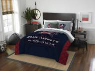 Columbus Blue Jackets Draft Full/Queen Comforter Set