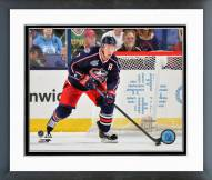 Columbus Blue Jackets Jack Johnson 2014-15 Action Framed Photo