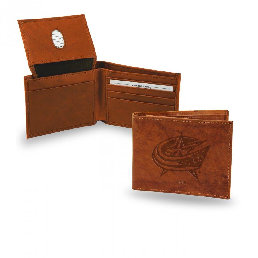 Columbus Blue Jackets NHL Embossed Bi-Fold Wallet
