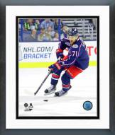 Columbus Blue Jackets Nick Foligno 2014-15 Action Framed Photo