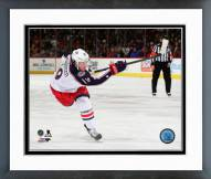 Columbus Blue Jackets Ryan Johansen 2014-15 Action Framed Photo