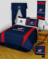Columbus Blue Jackets Sidelines Bed Comforter