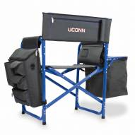 Connecticut Huskies Gray/Blue Fusion Folding Chair