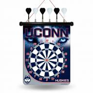 Connecticut Huskies Magnetic Dart Board