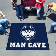 Connecticut Huskies Man Cave Tailgate Mat
