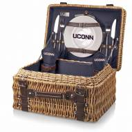 Connecticut Huskies Navy Champion Picnic Basket