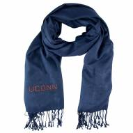 Connecticut Huskies Navy Pashi Fan Scarf