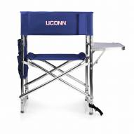 Connecticut Huskies Navy Sports Folding Chair
