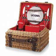 Connecticut Huskies Red Champion Picnic Basket