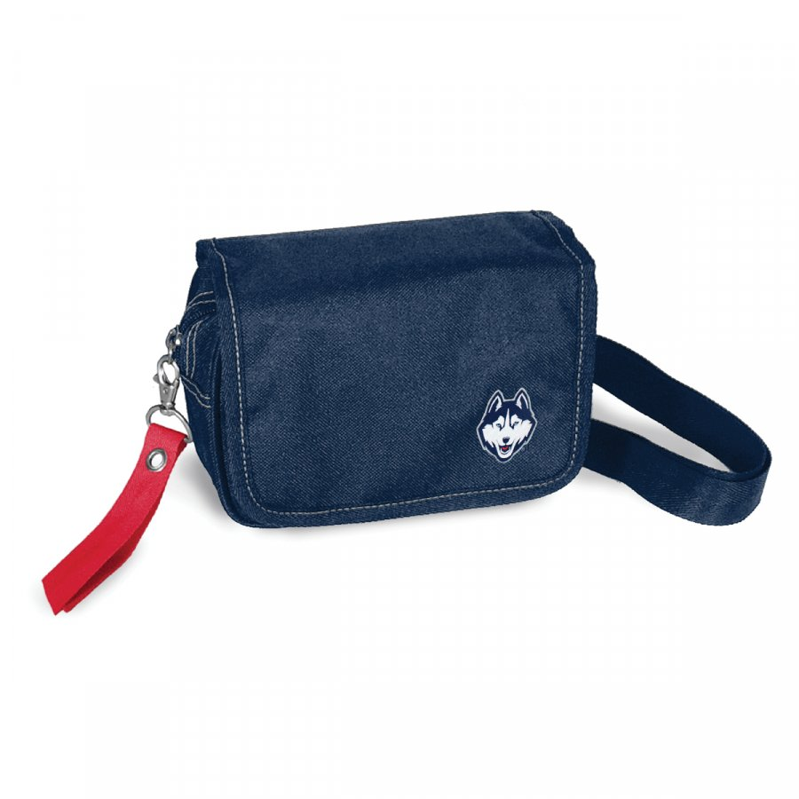 Connecticut Huskies Ribbon Waist Pack Purse
