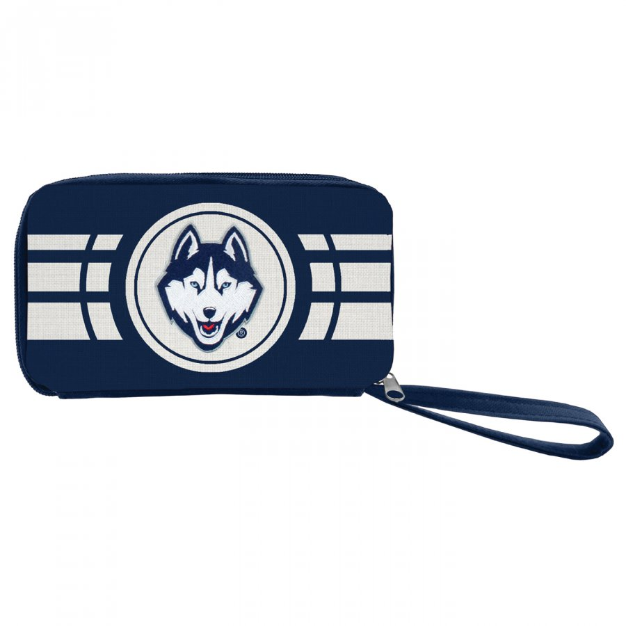 Connecticut Huskies Ripple Zip Wallet