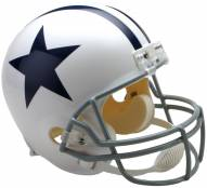 Riddell Dallas Cowboys 1960-63 Deluxe Replica Throwback NFL Football Helmet