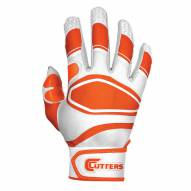 Cutters Power Control Baseball Batting Gloves