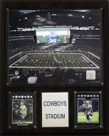 "Dallas Cowboys 12"" x 15"" Stadium Plaque"