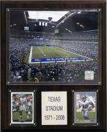"Dallas Cowboys 12"" x 15"" Texas Stadium Plaque"