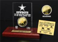 Dallas Cowboys 5x Super Bowl Champions Etched Acrylic