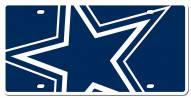 Dallas Cowboys Acrylic Mega License Plate