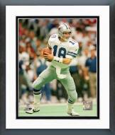 Dallas Cowboys Bernie Kosar 1993 Action Framed Photo