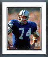 Dallas Cowboys Bob Lilly hands on waist Framed Photo