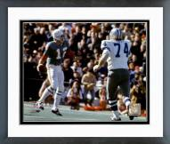 Dallas Cowboys Bob Lilly Super Bowl VI Action 1972 Framed Photo